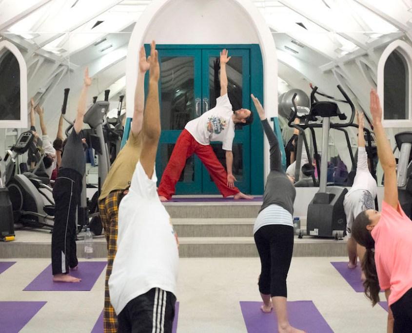 Dru Yoga London with Richard Brook