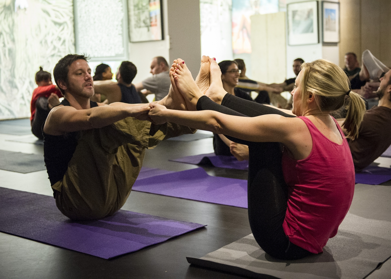 Couples Yoga with Richard Brook