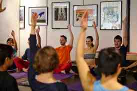 Hayley Quinn at Yoga Dating with Creative Yoga London