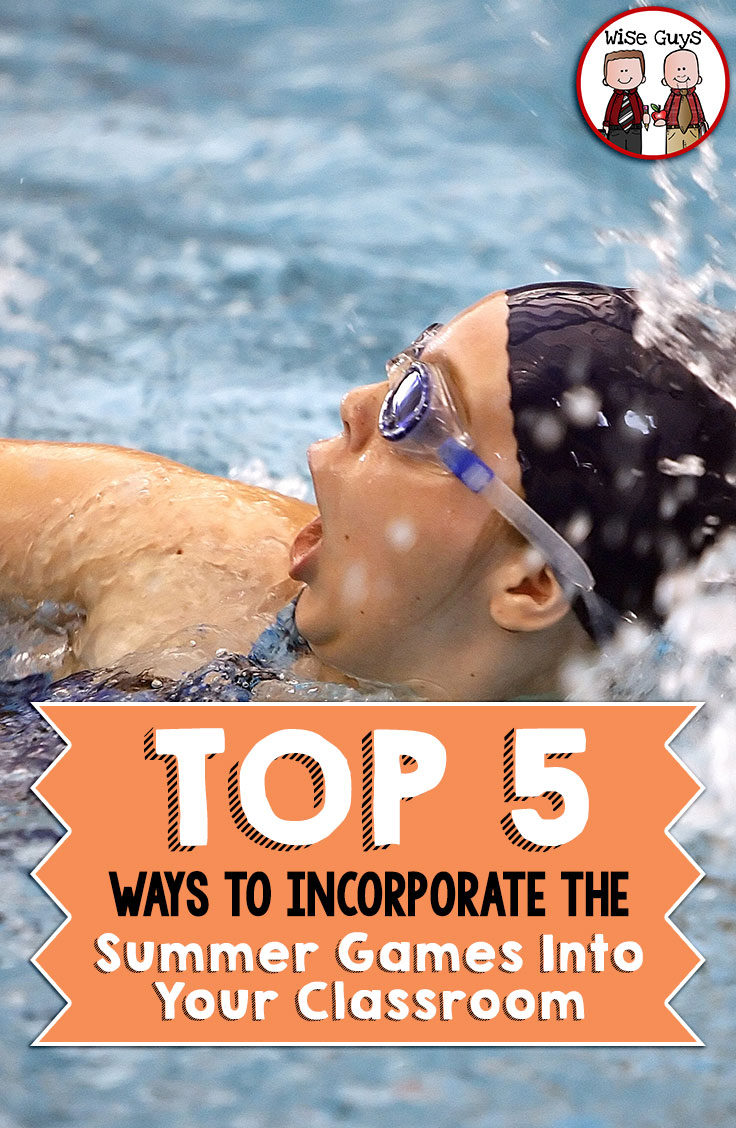 Every four years the world stops to watch the top athletes compete for medals in the summer games! Here's our top five ways to incorporate the summer games into your classroom, and excite your students with math games!