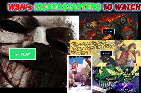 Calling All Producers: PRODUCER THESE INDIE COMICS:  TiTS, Something BLue, Genesis, a War and a Need to wear Masks