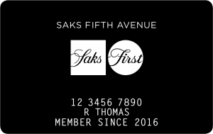 Saks Fifth Avenue Credit Card