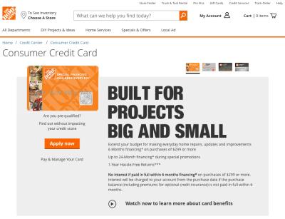 Home Depot Credit Card Review - CreditLoan.com®