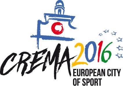 Logo Crema Città Europea dello Sport 2016