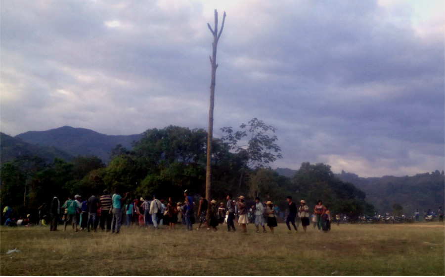 Ceremonia Sagrada del Saakhelu en el Territorio Ancestral de la Aguada San Antonio – Sa´Th Tama Kiwe