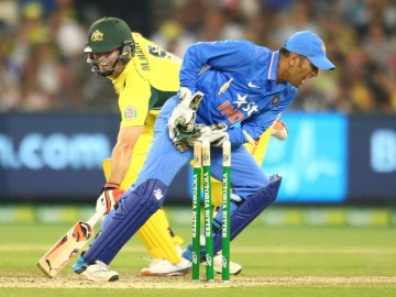 MS Dhoni was in truly sensational form behind the stumps at the MCG yesterday  Image source: ESPNcricinfo