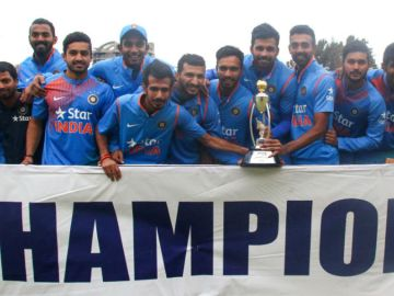 A clean sweep for India on their tour of Zimbabwe 2016