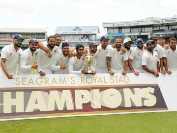 India's 2-0 series victory is their consecutive series victory in the West Indies