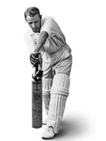 Sir Don Bradman one of the top 10 greatest batsman of all time