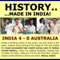 Statistical Hightlight of India vs Australia 4th Test at Delhi