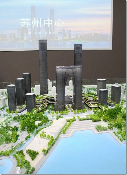 suzhou center sand model