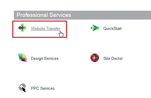 cpanel website transfer