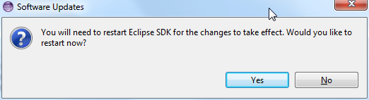 install cdt complete need reboot