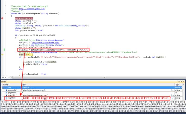 use proxy return html wrong