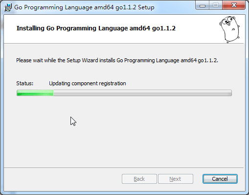 updating components registration while install go