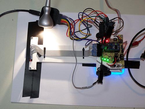 light led board wiring messy