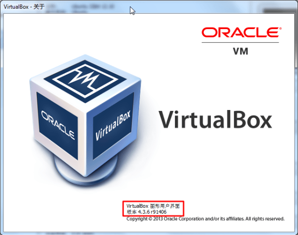 current virtualbox is 4.3.6 r91406