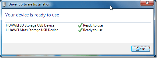huawei sd storage usb device can use