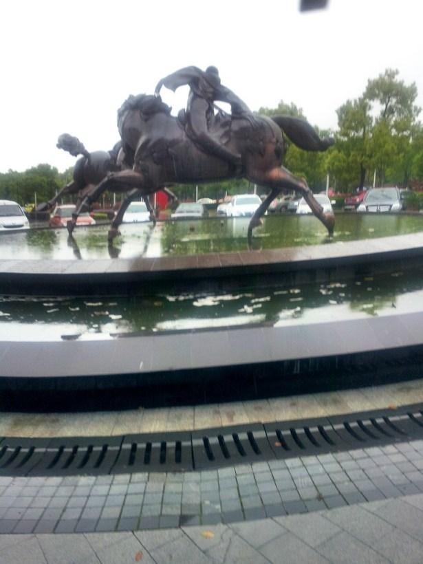 xian liverpool international conference center center horse
