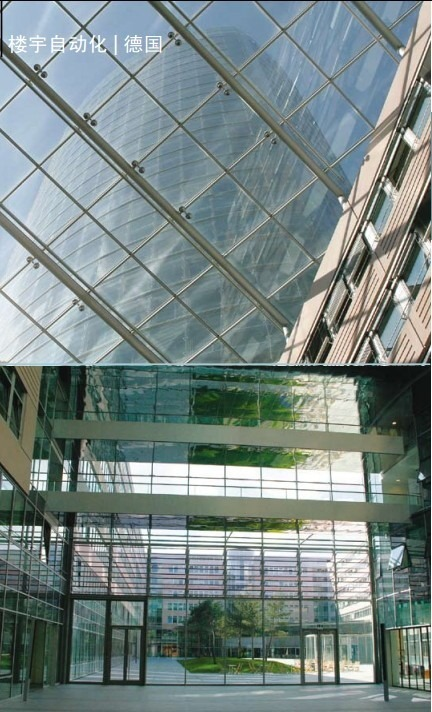 koln triangle building automation of building of german