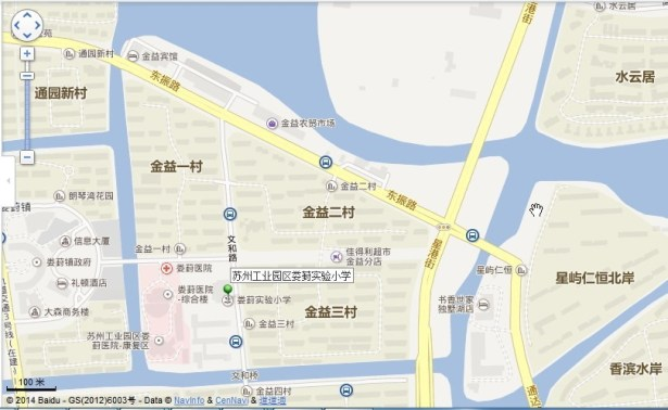 loufeng first primary school location map view near