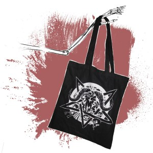 Black Cotton Bag – Pentagram