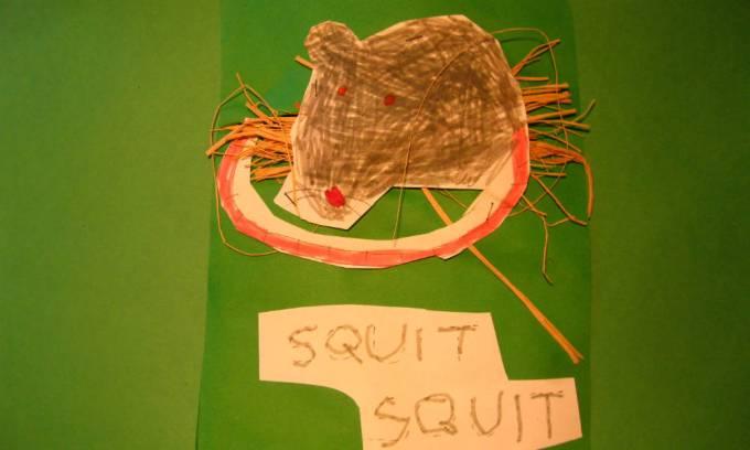 il topo fa squit squit
