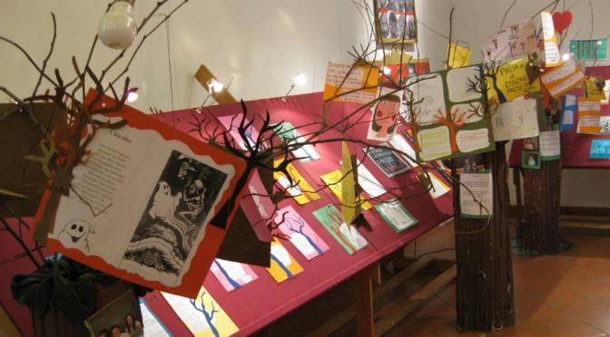 panoramica della mostra  sulla paura