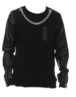 BLACK KAVIAR SIRVANA SWEATSHIRT