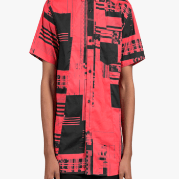 DOPE COUTURE Glitch Button Up