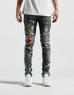 EMBELLISH NYC - Cookie Biker Denim