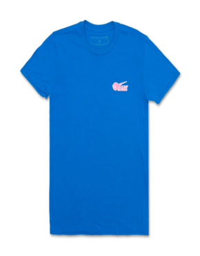 PINK DOLPHIN Rare Ghost Tee in Blue