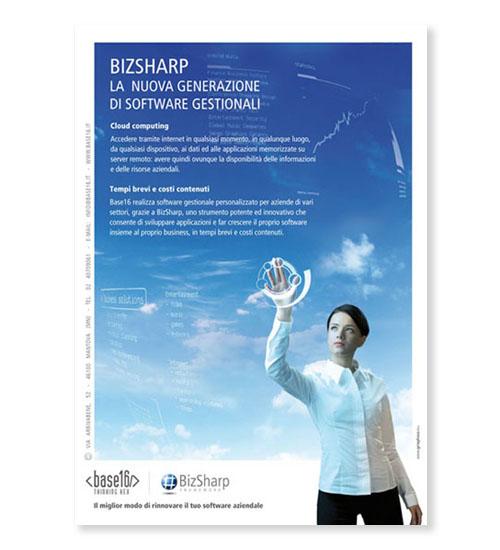 Pagina pubblicitaria rivista software