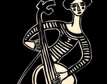 Mujer chelo II