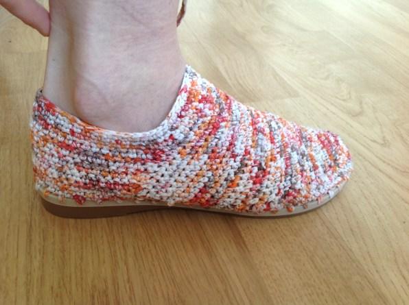 Randurile circulare cizme crosetate_2