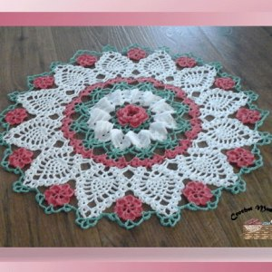 Sweetheart Rose Doily