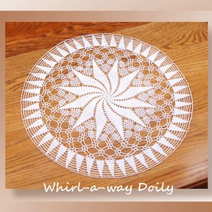 Whirl-a-way Doily