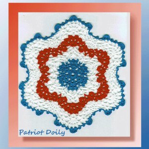 Patriot Doily