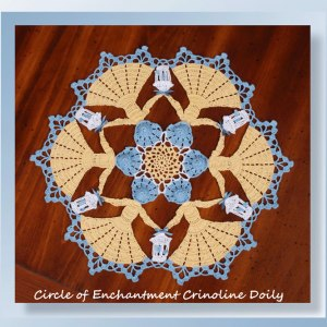 Circle of Enchantment Crinoline Doily