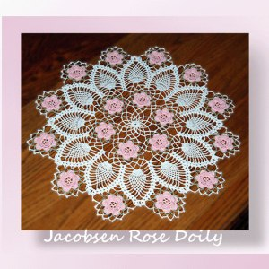 Jacobsen Rose Doily
