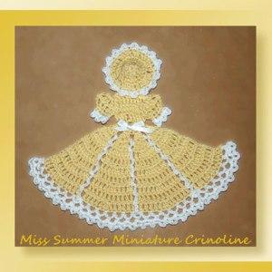 Miss Summer Miniature Crinoline