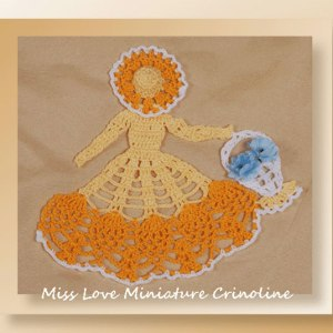 Miss Love Miniature Crinoline