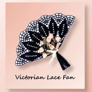 Victorian Lace Fan