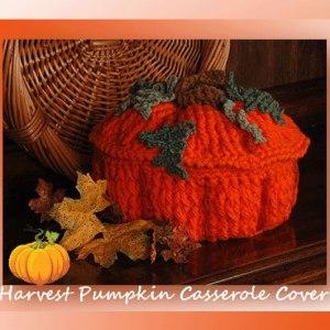 Harvest Pumpkin Casserole Cover