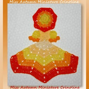 Miss Autumn Miniature Crinoline