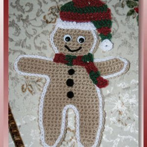 Country Gingerbread Hotpad