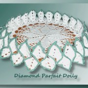 Diamond Parfait Doily (different angle)