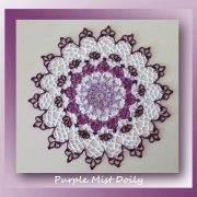Purple Mist Doily