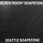 BLACK MOON (BLACK W/WHITE VEINS)