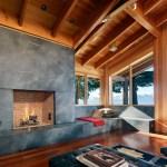 Grey Chalky fireplace